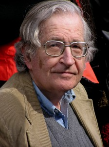 Noam Chomsky (photo by Duncan Rawlinson)