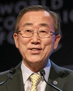 Ban Ki-moon photo by the World Economic Forum